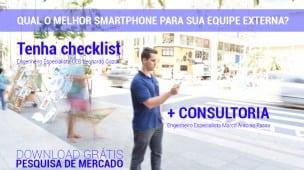 Qual o melhor smartphone para equipe externa?
