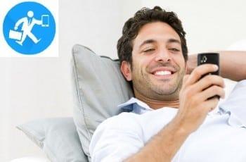 Posso instalar no Smartphone do meu funcionário, um aplicativo para controle de visitas?