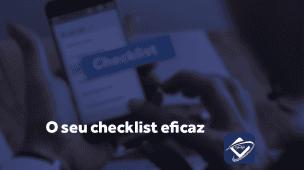O seu checklist eficaz