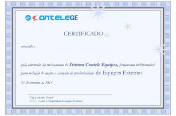 Certificação Contele GE para gestores de equipe