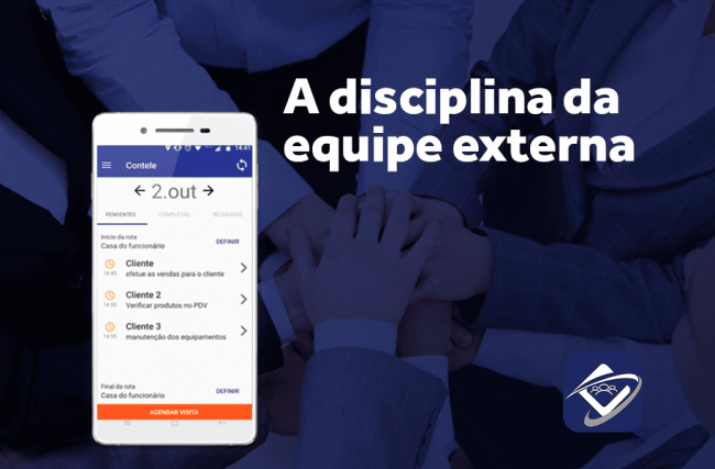 A disciplina da equipe externa