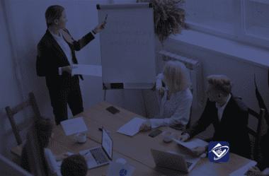 Posição de líder na gestão da sua equipe externa