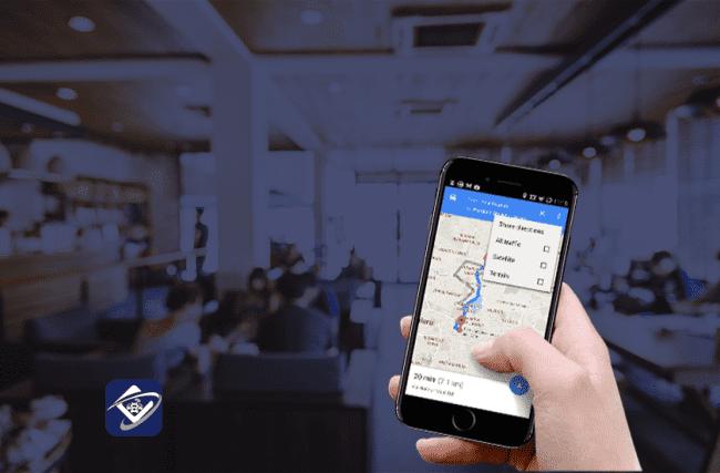 Como o Google Maps para km rodado ajuda no reembolso?