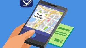 google maps para km rodado