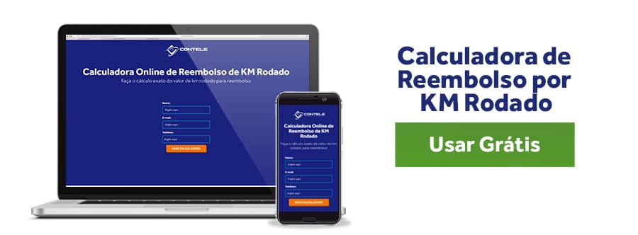 Calculadora Online Reembolso por KM Rodado