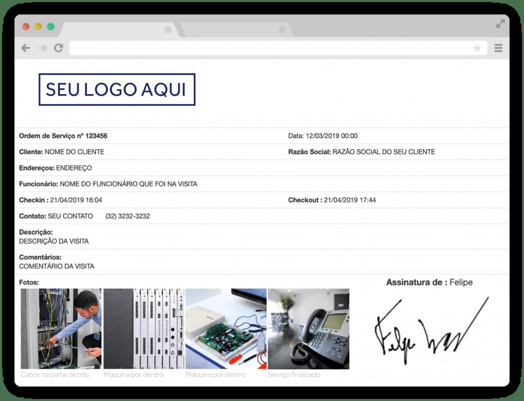 Ordem de Serviço Digital nas Prestações de Serviços